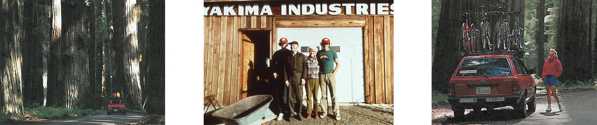 Yakima adventure products early days